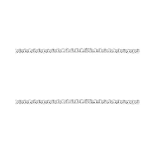 Corrente Prata Veneziana Fina 0.70mm 45cm
