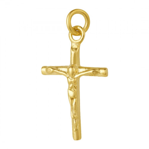 Pingente Aço Crucifixo IPG