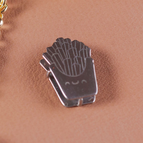 Pingente Aço Hit Batata Frita 16.5mm