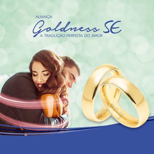 Conjunto Convex Kit Goldness SE com 20 Alianças