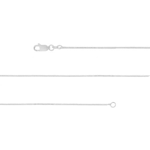Corrente Prata Veneziana 0.70mm 70cm
