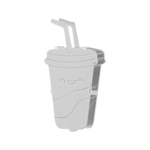 Pingente Aço Hit Milk Shake 16.5mm