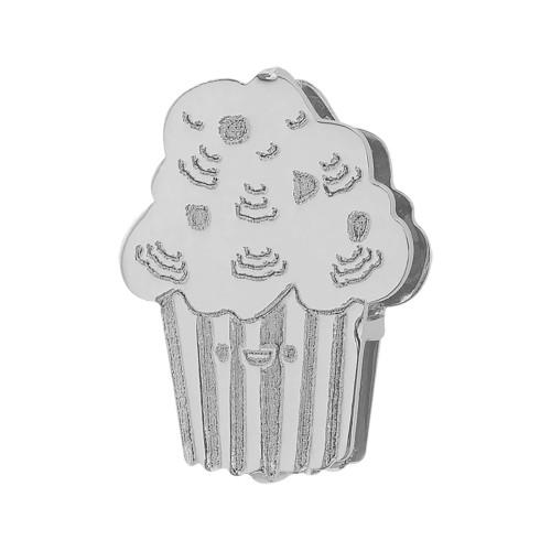 Pingente Aço Hit Cupcake 11.5mm
