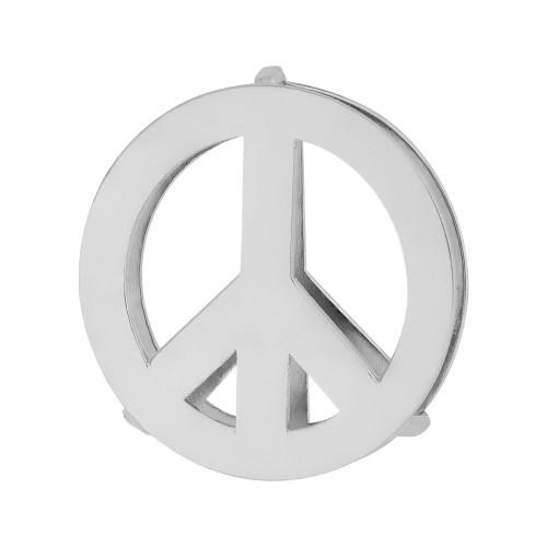 Pingente Aço Hit Simbolo da Paz 16.5mm