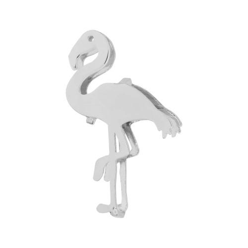 Pingente Aço Hit Flamingo 16.5mm