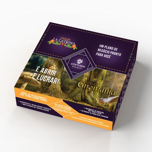 Conjunto Convex Kit Business Links Gnomania/La Catrina